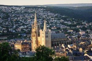 Vue de haut de biens éligibles loi malraux occitanie