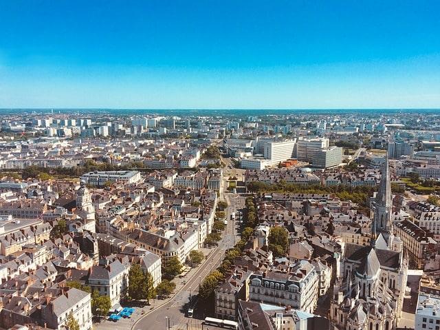 Nante : ville éligible loi Malraux Pays de la Loire