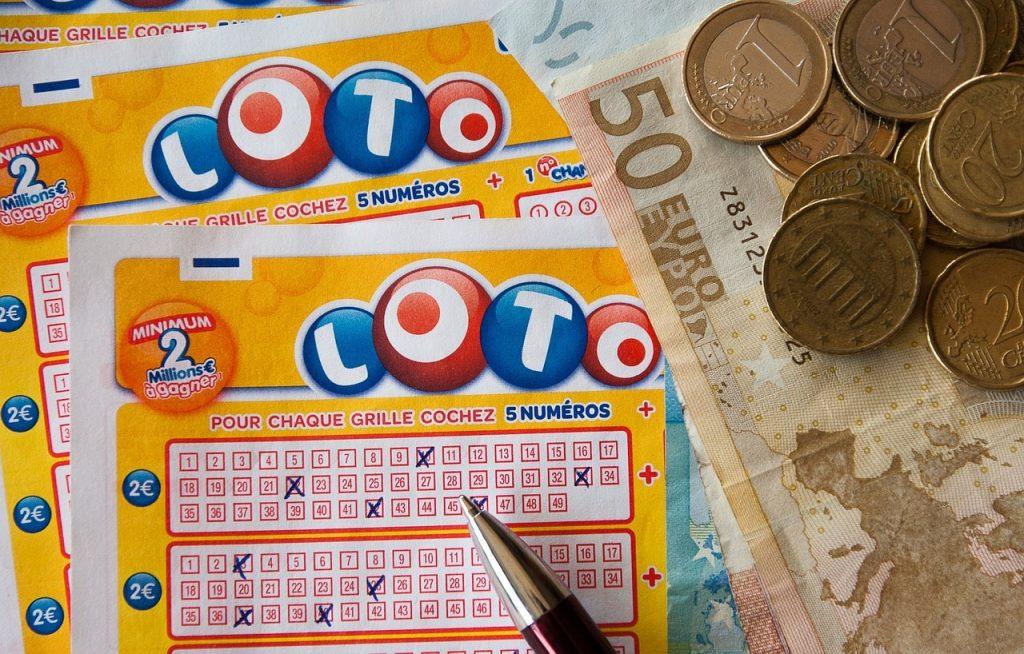 Exemple d'un ticket de loto du patrimoine