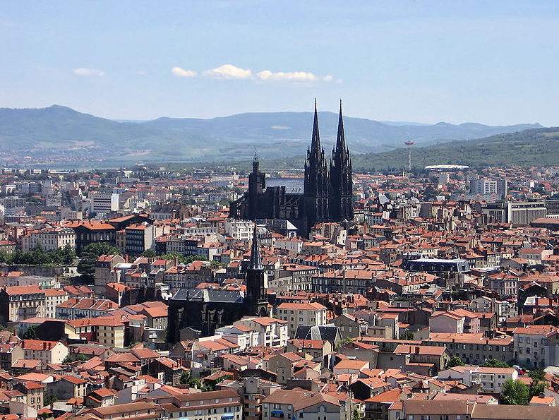 Vue des bâtiments éligibles loi Malraux Clermont Ferrand