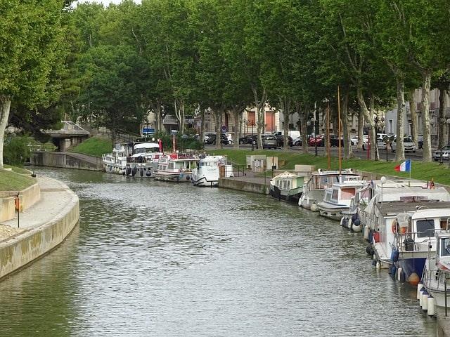 Canal dans une zone éligible loi Malraux Narbonne