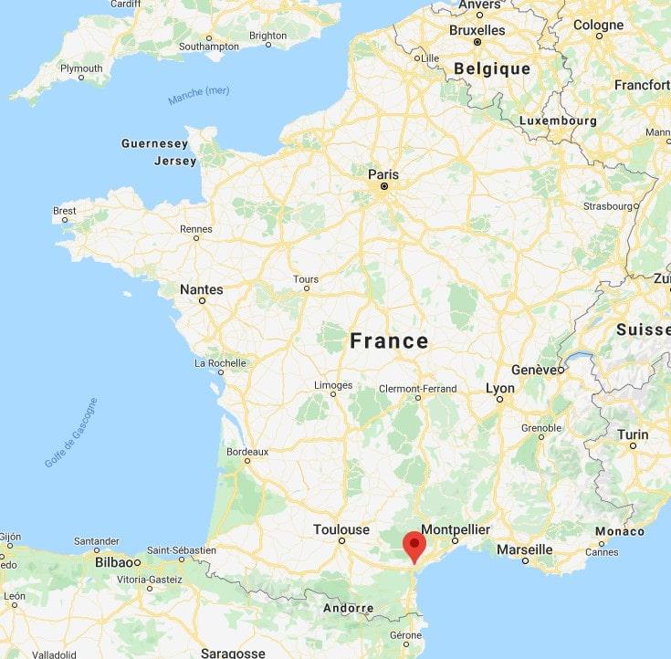 Narbonne Carte De France | Carte De Paris