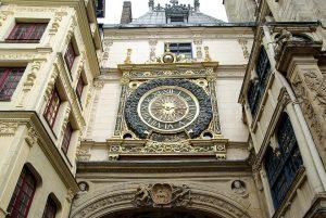 Gros Horloge - édifice éligible loi malraux rouen