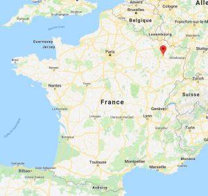 Cartographie de la ville de Nancy