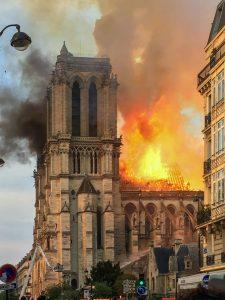 Incendie de la cathédrale Notre Dame De Paris, le 15 avril 2019