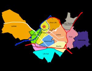 Quartiers éligibles loi Malraux Lille