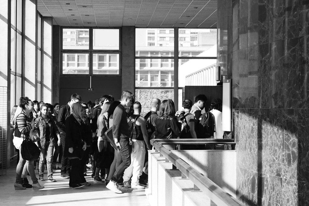Des étudiants dans un immeuble loi malraux strasbourg