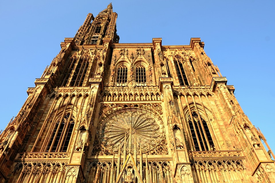 Cathédrale à Strasbourg, éligible à la loi Malraux