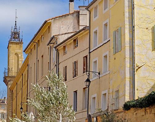 Une façade éligible en loi Malraux Monument Historique à Aix-en-Provence