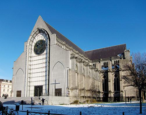 La Cathédrale de Lille, au coeur des quartiers éligibles loi Malraux