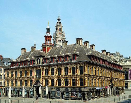 La Vieille Bourse de Lille, au centre de Lille